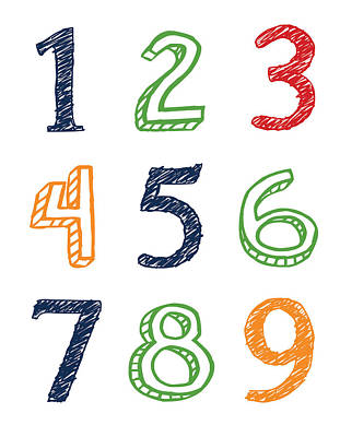 Numbers 123 Poster
