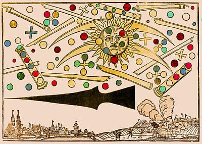Nuremberg Ufo 1561 Poster