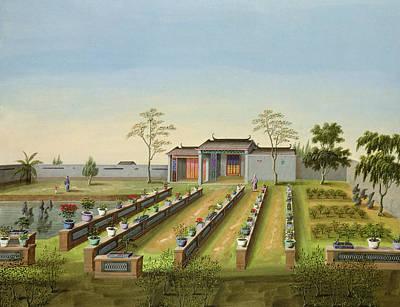 Nursery Garden, C.1820-40 Poster