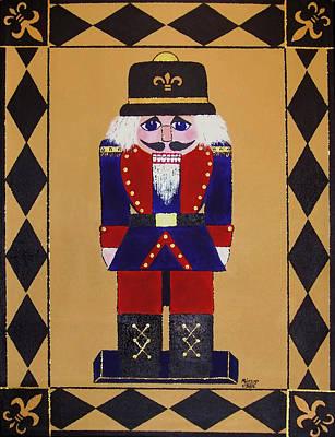 Nutcracker Floor Cloth Sgt. Blue Poster