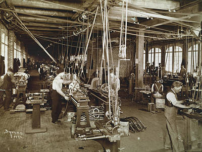 Nyc Factory, C1900 Poster
