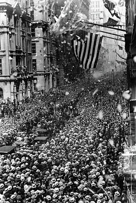 Nyc Ticker Tape Parade Poster