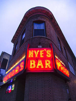 Nye's Bar By Day Poster