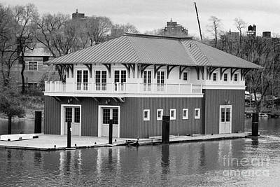 Nyrp Peter Jay Sharp Boathouse At Swindler Cove Park On The Harlem River New York City Poster by Joe Fox