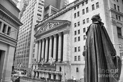 Nyse Plaza - 2 Poster by Stephen McCabe