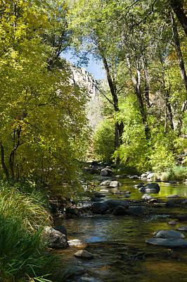 Oak Creek Canyon Creek Arizona Poster