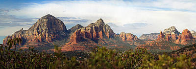 Oak Creek Canyon Sedona Pan Poster