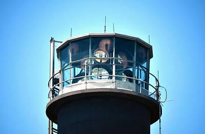 Oak Island Lighthouse Beacon Lights Poster by Sandi OReilly