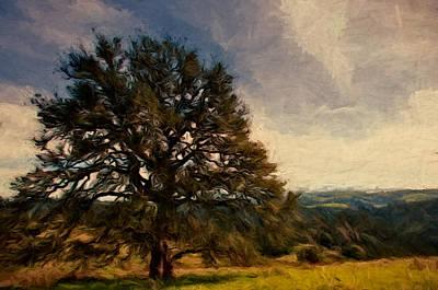 Oak Lookout Poster by John K Woodruff