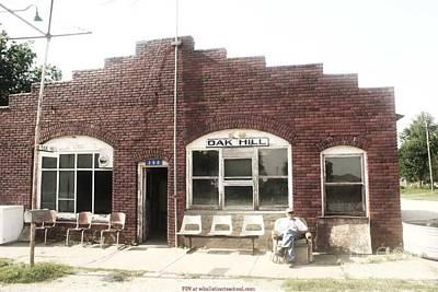 Oakhill Kansas Downtown Poster