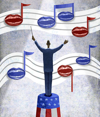 Obama Conductor Poster