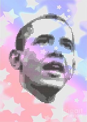 Obama On Stars Poster by Rodolfo Vicente