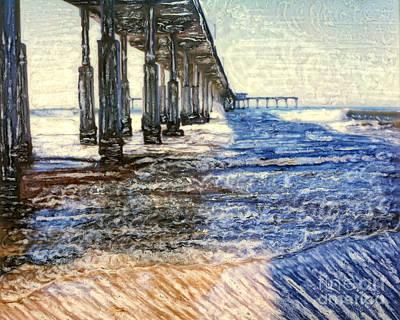Ocean Beach Pier Poster