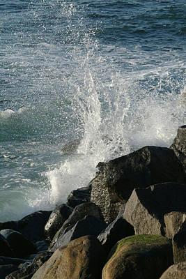 Ocean Beach Splash 2 Poster