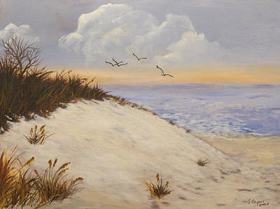 Ocean Breeze Poster by J Cheyenne Howell