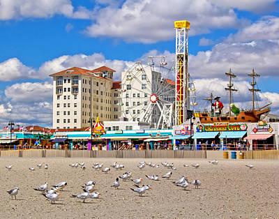 Ocean City View Poster