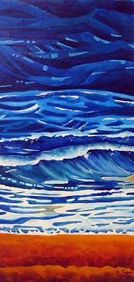 Ocean Poster by Dawnstarstudios