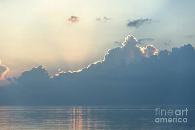 Ocean Daybreak Poster by John Greim