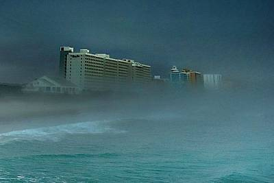 Ocean Fog Poster