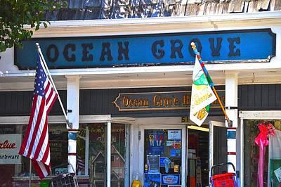 Ocean Grove Hardware Poster