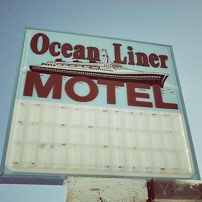 Ocean Liner Motel Poster by Brandon Addis