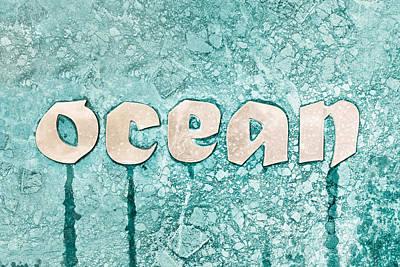 Ocean Sign Poster