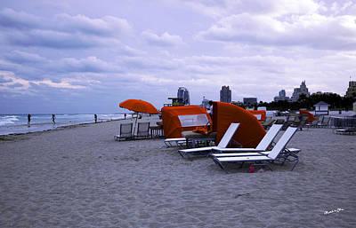 Ocean View 6 - Miami Beach - Florida Poster by Madeline Ellis