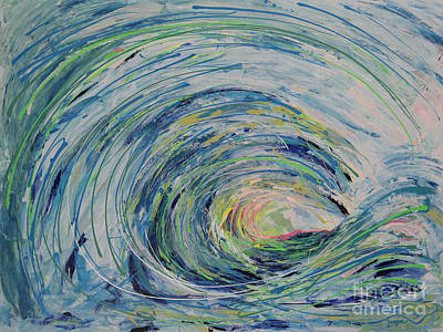 Ocean Wave Poster by Robert Yaeger