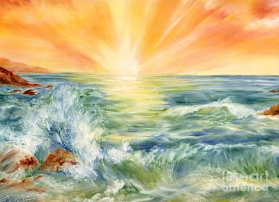 Ocean Waves IIi Poster