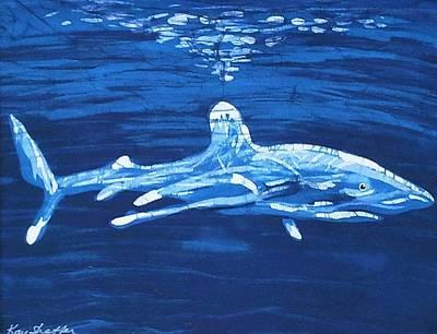 Oceanic White Tip  Poster