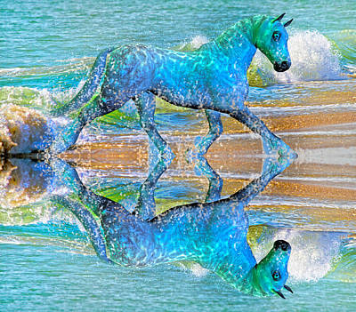 Oceans Poster by Betsy Knapp