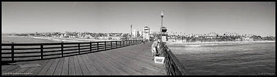 Oceanside From The Pier Poster by Glenn McCarthy Art and Photography