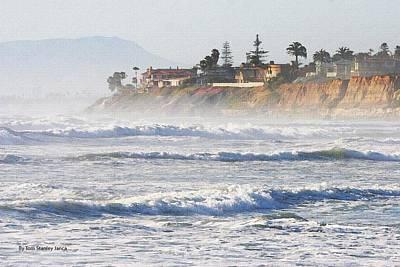 Oceanside California Poster by Tom Janca