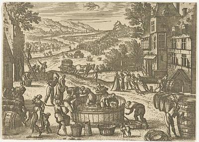 October, Pieter Van Der Borcht Poster