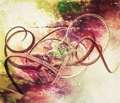 Octopus Poster by Taylan Apukovska