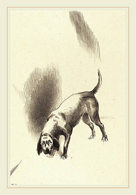 Odilon Redon French, 1840-1916, The Dog Poster