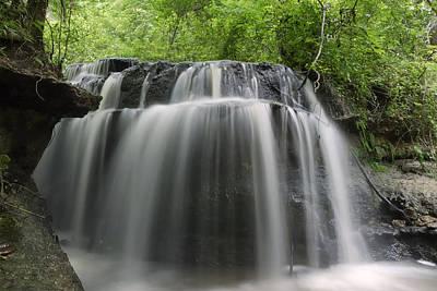 Odom Creek Waterfall Georgia Poster