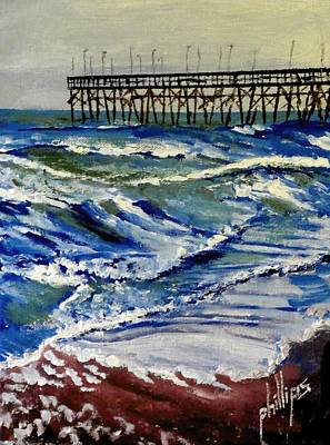 Off Season At Northtopsail Poster by Jim Phillips