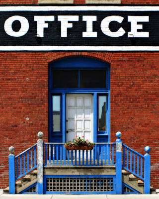 Office - 1 Poster by Nikolyn McDonald