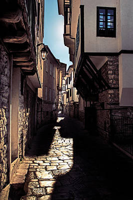 Ohrid Streets Poster