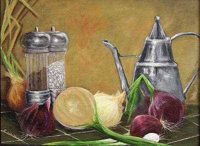Oil Can Still Life Poster