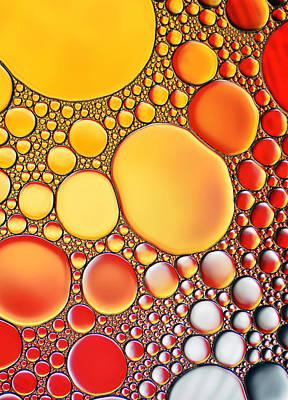 Oil Stones Poster by Heidi Westum