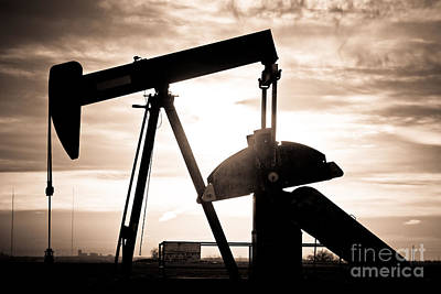 Oil Well Pump Poster by James BO  Insogna