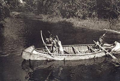 Ojibwas Hunting Poster