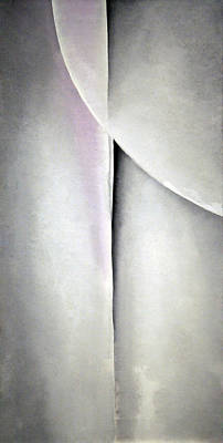 O'keeffe's Line And Curve Poster