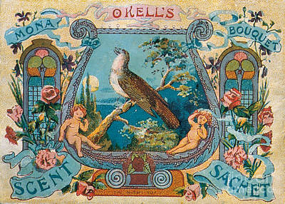 Okells Scent Sachet 1895 Poster by Science Source