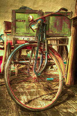 Ol' Rusty Poster by Debra and Dave Vanderlaan