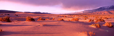 Olancha Sand Dunes, Olancha Poster by Panoramic Images
