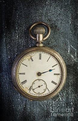 Old Antique Pocket Watch Poster by Edward Fielding