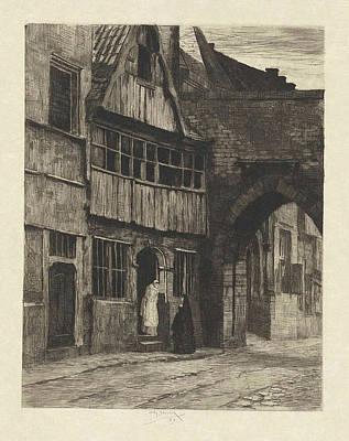 Old Antwerp, Willem Steelink II Poster